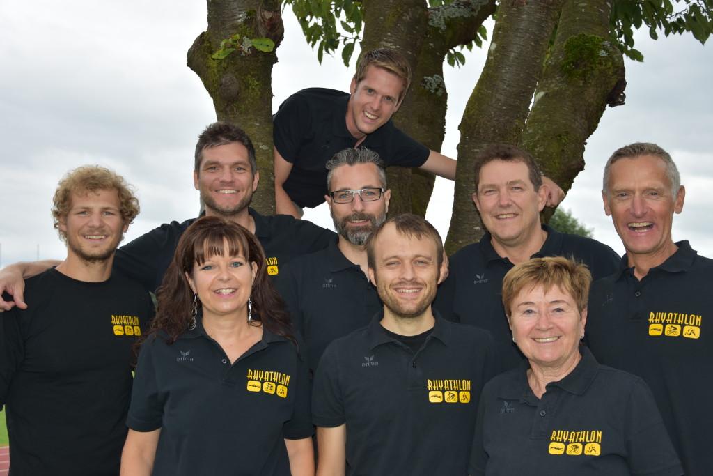 Das OK vom Rhyathlon - der Rheintaler Triathlon