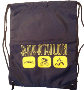 Der Rhyathlon-Zugbeutel: Das Zusatzgeschenk Rhyathlon 2014